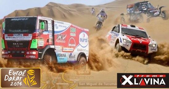 Dakar 2014 az Eurol mozgó tesztje!