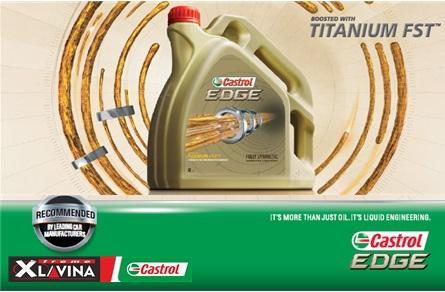 Csúcskategóriás Castrol Edge Titanium FST