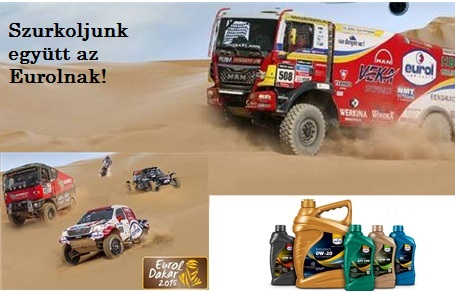 Dakar 2015 – az Eurol újra támad
