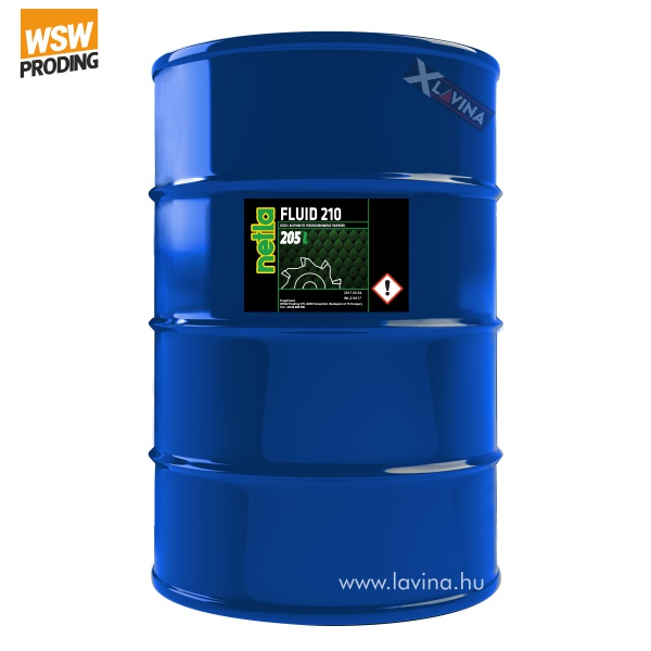 Netla fluid 210 emulzió vízzel keverhető fémmegmunkáló folyadék
