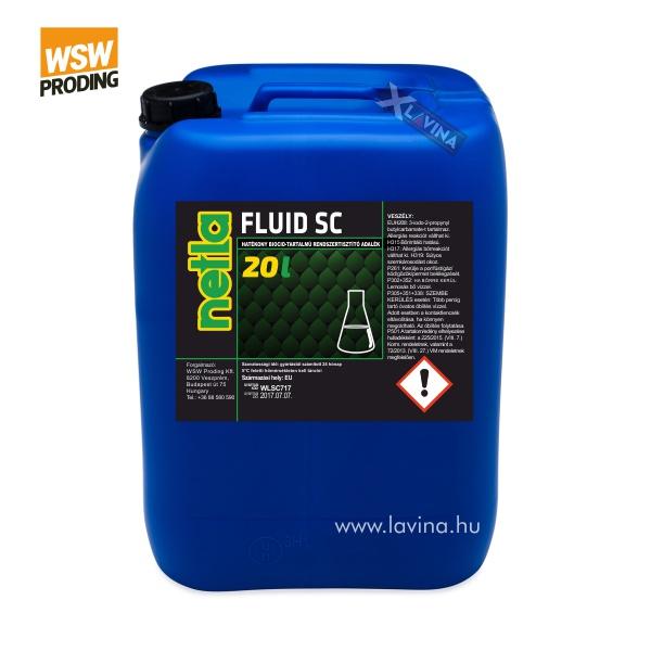 netla-fluid-sc-system-cleaner rendszertisztító adalek koncentrátum