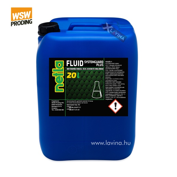 netla-fluid-systemguard-plus-bakteriumolo-adalek koncentrátum