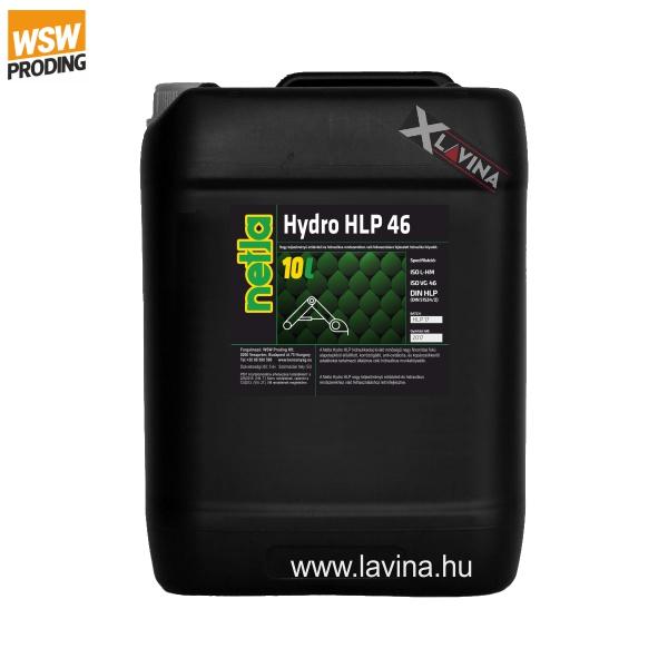 netla-hydro-hlp46-hidraulikaolaj 10L Netla ipari kenőanyag