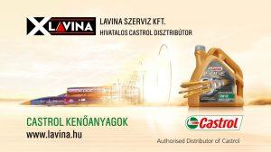 Lavina hivatalos Castrol nagykereskedő